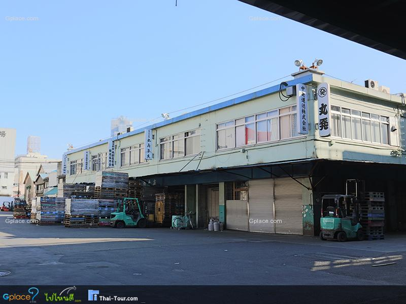 ตลาดปลาส่วนขายส่ง Tsukiji Wholesale Market
