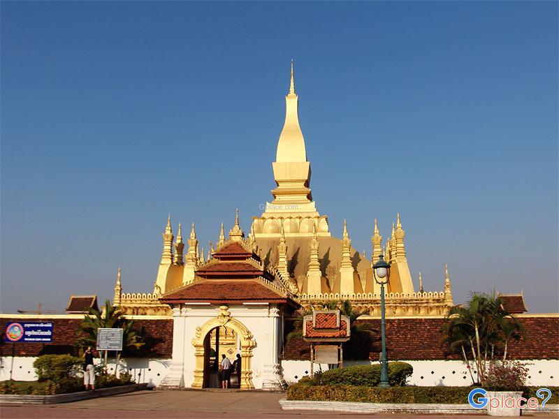 Wat Phra That Luang Vientiane