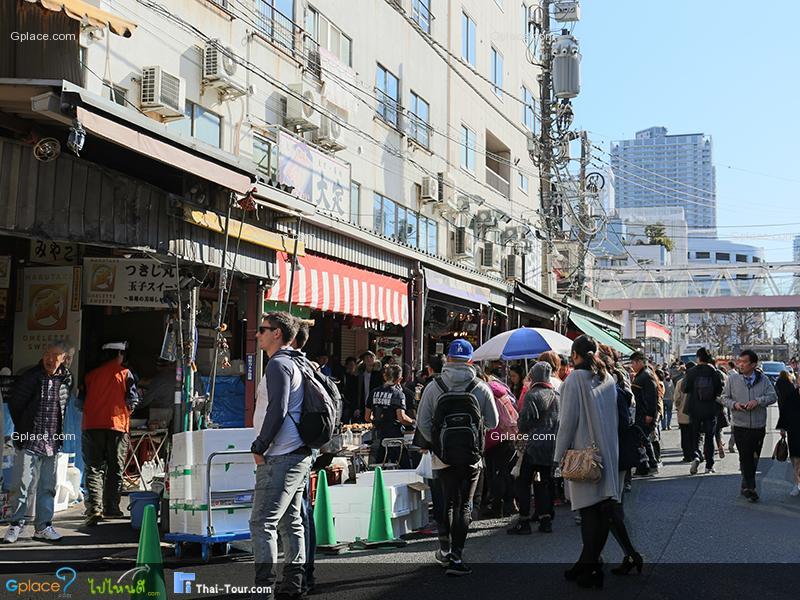 ตลาดปลาด้านนอก Jogai Shijo