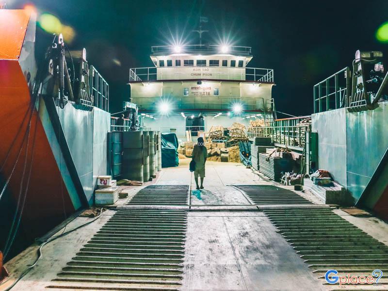 受欢迎的港口 泰国海滩