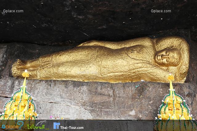 พระพุทธไสยาสน์ถ้ำภูค่าว