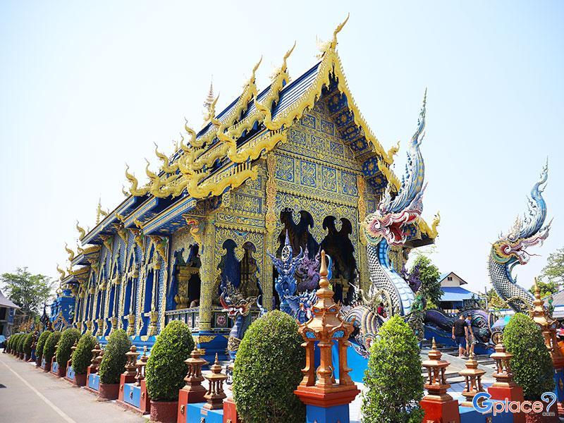 Wat Rong Sua Tent